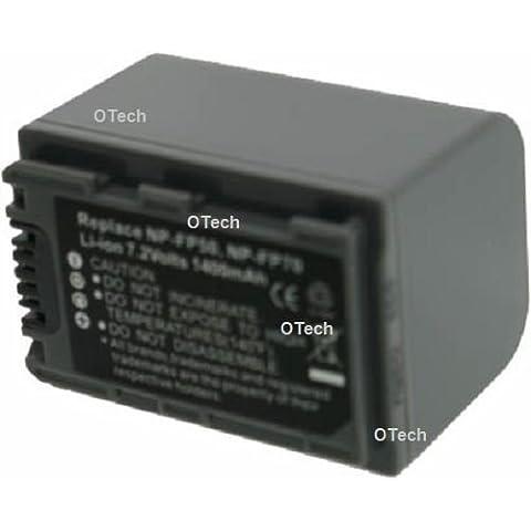 Batería compatible para Sony NP-FP71