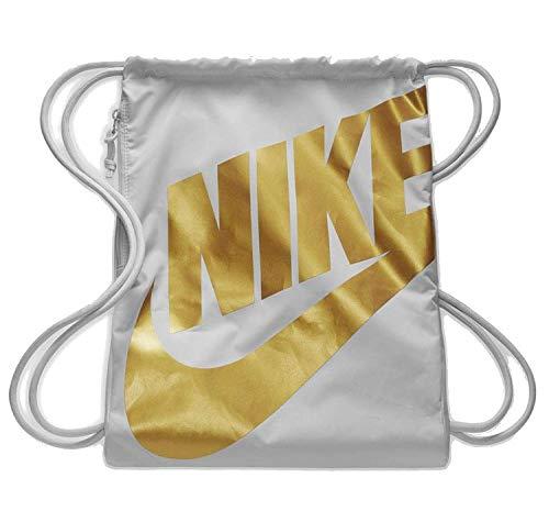Nike 2018 Turnbeutel, 45 cm, Mehrfarbig (Vast Gris/Dorado)