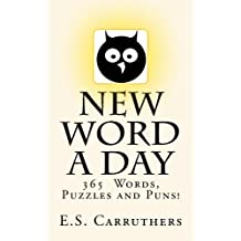 New Word A Day: Cartoon Vocabulary