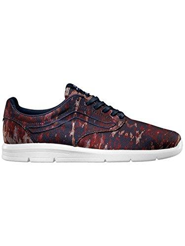 Vans 'ISO' Sneaker (miltwo) navy/red/white