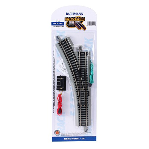 Bachmann trains Snap-Fit E-Z Track Remote Turnout - Gauche