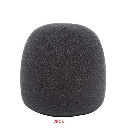Floridivy Sostituzione per Blue Yeti/PRO Microfono a condensatore Elastico PU Spugna Copertura Pop Filter Parabrezza