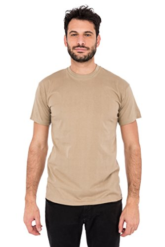 Fruit of the Loom Valueweight T, T-Shirt Uomo Beige (Beige 3M)