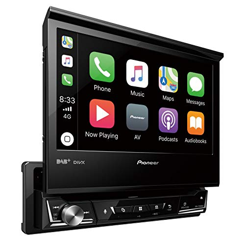 "Pioneer AVH-Z7100DAB ""1DIN"" Autoradio Clear-Resistive-Touchscreen Bluetooth, Digitalradio ""DAB+"" Media-Receiver, 17,8 cm (7 Zoll) Schwarz"