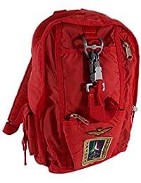 23f9ed2a44 Zaino Aeronautica Militare Zainetto Frecce Tricolori Rosso A6/13