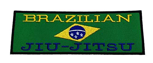 Brazilian Jiu Jitsu Patch (15,2cm) Bestickt Eisen/Nähen auf Badge BJJ Grappling GI Aufnäher -