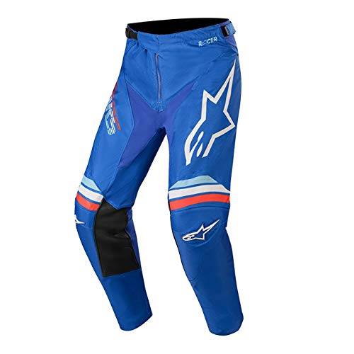 Alpinestars Racer Braap Jugend Motocross Hose Blau 28 -