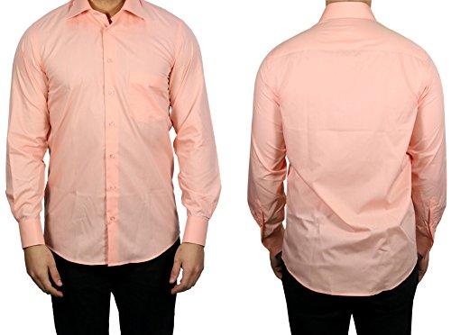 MUGA Herrenhemd Kent Kragen Apricot