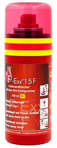 F-Exx 1.5 F - Der kleine Fettbrand-Feuerlöscher für die Küche | Made in Germany