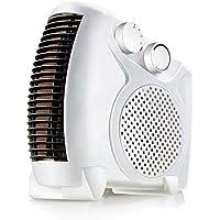Heater-JXW Calefactor Eléctrico Ventilador con 2 Configuraciones De Calor, Ajuste De Temperatura Y