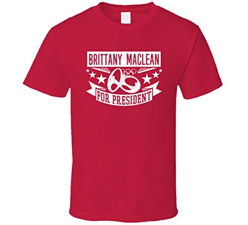 bretana-maclean-para-presidente-canada-natacion-800-m-freestyle-t-shirt