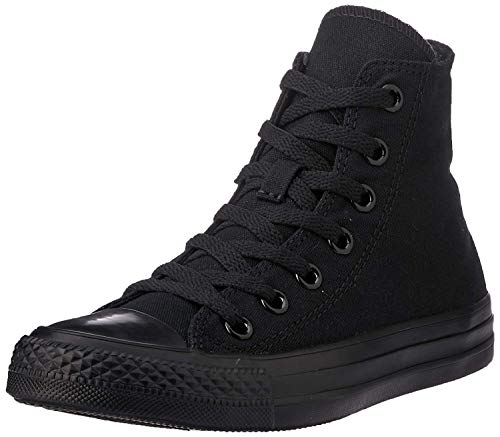 Converse Chuck Taylor AS Core HI, Unisex-Erwachsene Hohe Sneaker, Schwarz (Black Mono), 39.5 EU (6.5 UK)