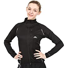 Trespass Ego Active Layer TP75 Top, Mujer, Negro (BLK), S