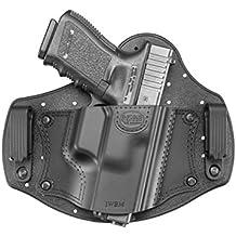 Fobus IWBM - Funda de pistola para portación oculta en la cintura, para zurdos, de retención pasiva, para Glock 17,19,26,27,28,33,43 / Beretta PX4 Compact / Sig Sauer P320, P228 / Walther PPQ, P99 / Smith & Wesson M&P Shield, M&P Compact / FN - FNS, FNX / Ruger SR9, SR40, SR45, LC9 / Springfield XD Sub-Compact / Taurus 709 Slim, PT111 G2