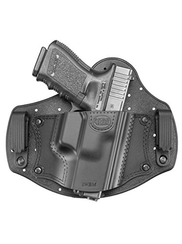 New Fobus IWBM Right Hand IWB Inside Waistband Passive Retention Holster Fits Glock 17,19,26,27,28,33 / Beretta PX4 Compact / Sig Sauer P320, P228 / Walther PPQ, P99 / Smith & Wesson M&P Shield, M&P Compact / FN - FNS, FNX / Ruger SR9, SR40, SR45, LC9 / Springfield XD Sub-Compact / Taurus 709 Slim, PT111 G2 -