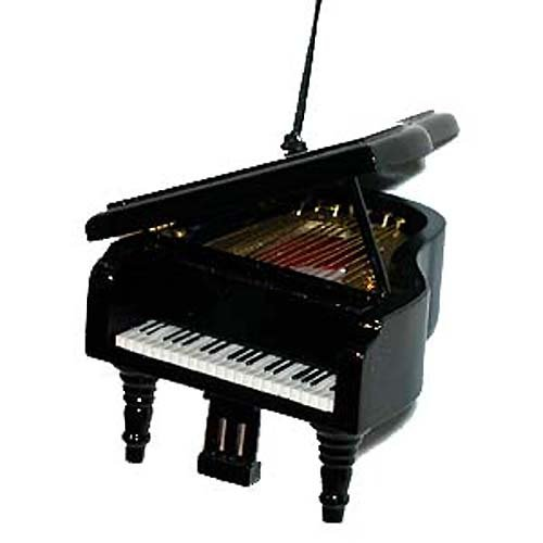 Broadway Gifts Black Grand Piano Musical Instrument Christmas Tree Ornament Decoration Music