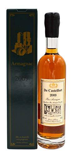 Rarität: Armagnac De Castelfort 0,2l Jahrgang 2009 inkl. Geschenkkarton