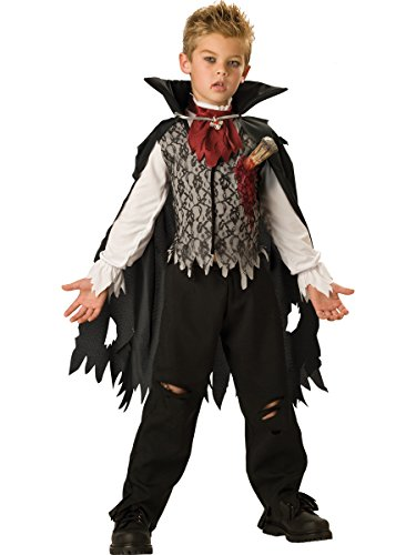 Gepfählter Vampir Kinderkostüm - Größe: 8 / 122-128cm