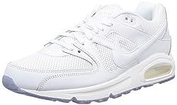 Nike Herren AIR MAX Command Hallenschuhe, Weiß (White_112), 43 EU
