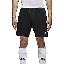 Adidas Parma 16 SHO Pantalón Corto, Hombre, Negro/Blanco, M