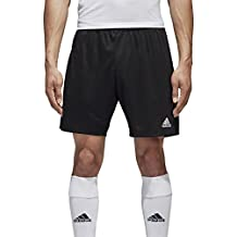adidas Parma 16 SHO Pantalón Corto, Hombre, Negro - (Negro/Blanco), M