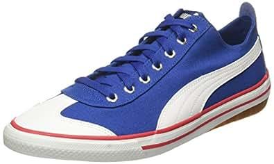 Puma Unisex's True Blue and White Sneakers - 4 UK/India (37 EU) (36334406)