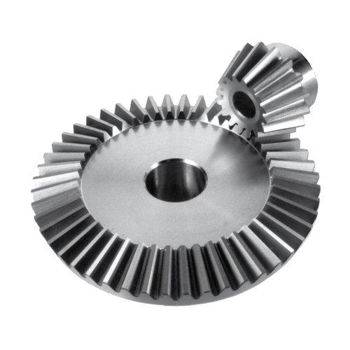 Thomafluid Kegelrad aus Stahl, Modul: 2, Zahnbreite (b): 9,3 mm, Werkstoff: 11SMnPb30, Bohrung (B): 10 mm, Übersetzung (x:1): 1, Zähne: 22, 5 Stück