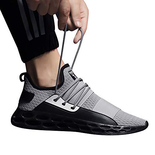 a Buon Mercato Scarpe Sportive,Pantofole Uomo Invernali Uomini Ragazzi Scarpe da Ginnastica Gli Sport in Esecuzione Traspirante Piatto Camuffare Allacciare Scarpe