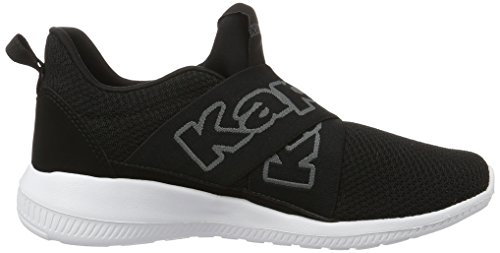 Kappa Faster Ii, Sneakers Basses Mixte Adulte Noir (Black/grey)