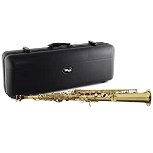 Stagg WS-SS215 Ws-ss215 Saxophone BB Soprano + Etui Or