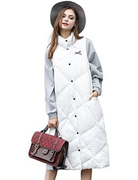 Liquidación- YOU.U 2017 Mujer Invierno largo Puffer Vest