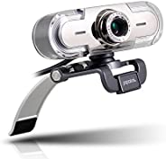 papalook Webcam para PC, PA452 Full HD 1080p/30fps Videollamadas, Cámara Web con Micrófono Integrado para Comp