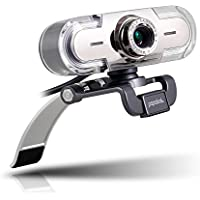 PAPALOOK Webcam 1080P Full HD PC Skype Camera, PA452 Web Cam with Microphone, Video Calling and Recording for Computer Laptop Desktop, Plug and Play USB Camera for YouTube, Compatible with Windows