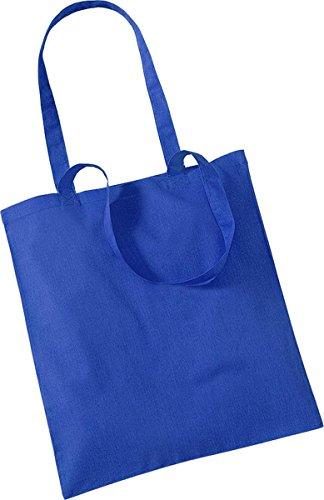 Westford Mill Shopper Handtasche Aufbewahrung Reisetasche Promo Schulter Tasche One Size Blau - Helles Königsblau