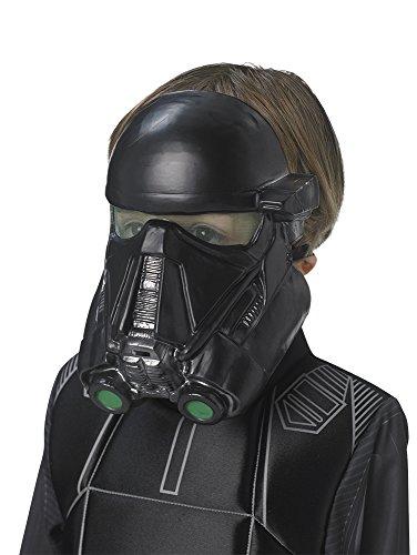 Star WarsMaske Death Trooper, Schwarz (Rubies Spain 33696)