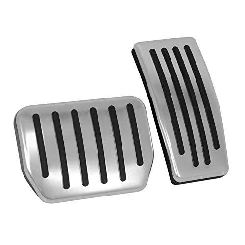 Topfit Anti-Rutsch Performance Fußpedal Pads, Anti-Rutsch-Beschleuniger & Bremse Aluminium Fußpedal Schutzpolster für Modell 3 -