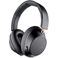 Plantronics BackBeat GO 810 - Casque sans fil à réduction de bruit circum-aural, noir
