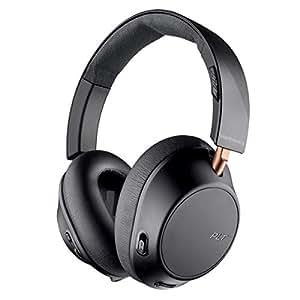 Plantronics BACKBEAT GO 810 Oreillettes Bluetooth, mousse mémoire, sur oreille, noir-graphit