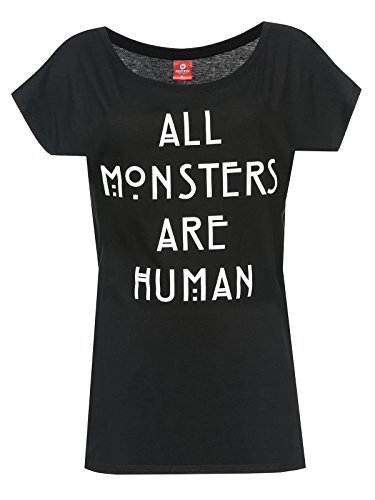 American Horror Story All Monsters Are Human T-shirt Femme noir M