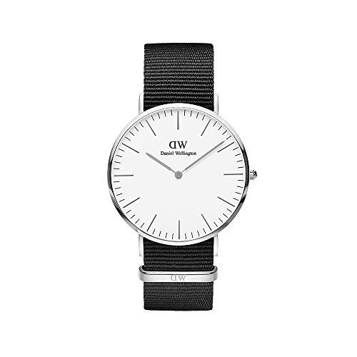 Daniel Wellington Men's Analogue Quartz Watch with Textile Strap DW00100258