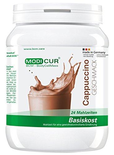 BCM Modicur Basis Cappuccino Schoko 1 Dose à 540g (25 Portionen / Eiweißshake / BCM BodyCellMass)