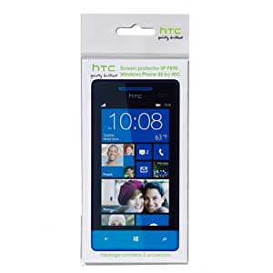 HTC Screen Protectors for HTC Windows Phone 8S - Clear (Pack of 2)