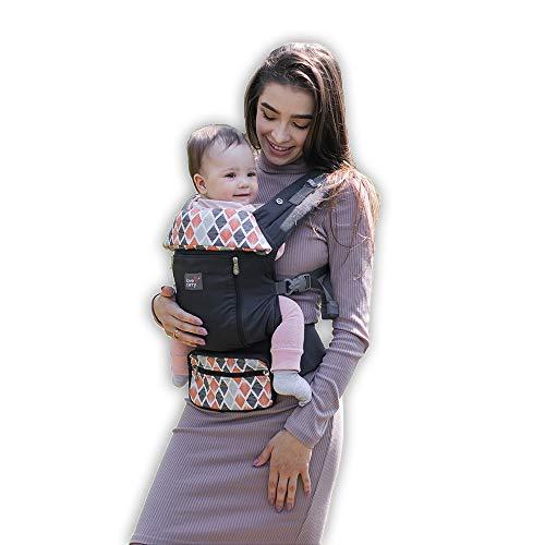 Love & Carry AIR X Marsupio Ergonomico Toddler Porta Bebè Neonato Regolabile e Traspirante (Kite)