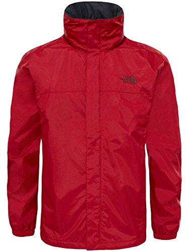 North Face Resolve 2Jacke Herren cardinal red/sequoia red