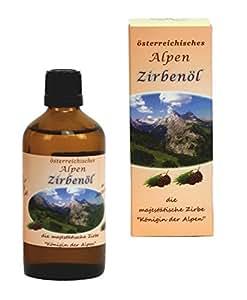 ALPEN-ZIRBENÖL - 100 ml - naturrein 100 % bestes Zirbenöl