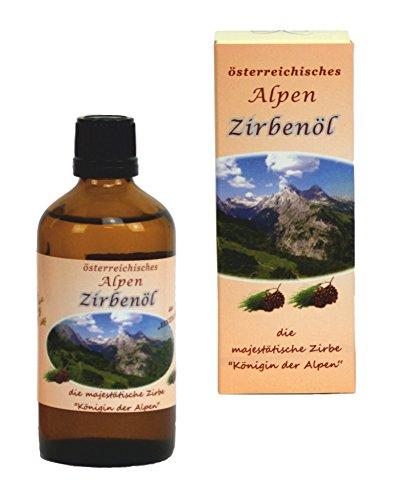 ZIRBENÖL - 20 ml - 100 % naturreines Öl aus der Zirbe