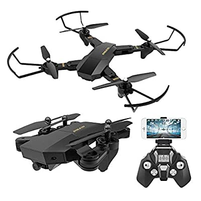 TOYEN RC Quadcopter with 2.4GHz 6-Axis Gyro Altitude Hold Function and 720P HD 2MP Camera Helicopter from Toyen