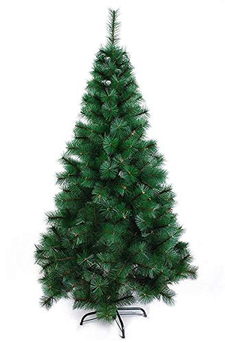 AMFIN® 5 feet Artificial Christmas Tree Xmas Pine Tree with Solid Metal Legs, Light Weight, Perfect for Christmas Decoration (Green, 5 Feet)