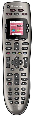 Universal IR Wireless Touchscreen schwarz Fernbedienung - Fernbedienung (Kopfhörer, DVD/Blu-ray, TV, IR Wireless, Touchscreen, integriertes Display, wiederaufladbar, schwarz) ()
