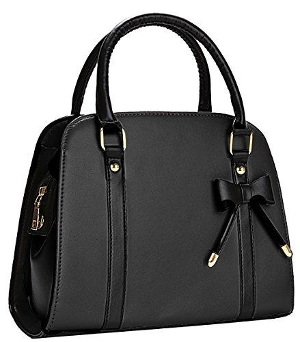 Borse donna,coofit borse a tracolla moda borse a mano con piccolo fiocco